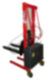 F 6AL - Fork-lift truck with electric lifting-Fork-lift truck, electric lifting, capacity 600kg, overall fork width 500mm, lifting height 1600mm.