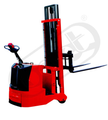 F 12APC - Fork-lift truck with electric travel and lifting(V110063)