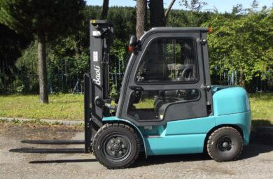 DV D35 - čelní vysokozdvižný vozík Baoli, motorový, diesel(Z510070)