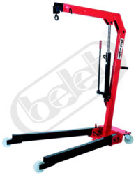 JR 5S - foldable crane manually operated - Foldable crane - manually operated, capacity 500kg