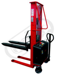 F 10AL - Fork-lift truck, electric lifting - Fork-lift truck, electric lifting, capacity 1000kg, overall fork width 540mm, lifting height 1600mm