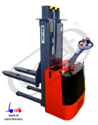 F 12APP - Fork-lift truck with electric travel and lifting - Fork-lift truck, electric travel and lifting, capacity 1200kg, lifting height 1600mm