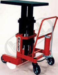 ZP 10R - Lift table - manually operated - Lift table, hydraulic - manually operated, capacity 1000kg, lifting height 1300mm