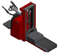 Zakázkové výrobky pro přípravky a formy-Vysokozdvižné vozíky ruční a s aku pohonem.