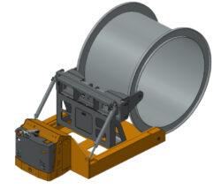 Zakázkové výrobky pro role, cívky a náviny-Ruční i akumulátorové nízkozdvižné i vysokozdvižné vozíky a speciální pojízdné nebo stacionární konstrukce.