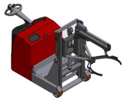 Zakázkové výrobky ostatní-Speciální technika a vozíky s ručním nebo akumulátorovým pohonem.