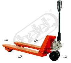NF 15NL4C - Low-lift pallet truck, four-ways - Low-lift pallet truck, four-way, capacity 1500kg, overall fork width 540mm
