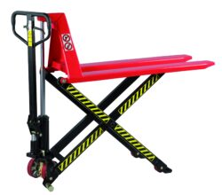 NF 10NLY - High-lift pallet truck-High-lift pallet truck manually operated, capacity 1000kg, overall fork width 520mm, fork length 1140mm