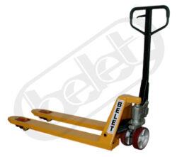 NF 20NL/1500 - nízkozdvižný paletový vozík-Ruční paletový vozík, nosnost 2000 kg, šířka vidlic 550 mm, nabírací délka vidlic 1500 mm