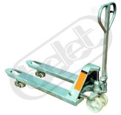 NF 20NLST - nízkozdvižný paletový vozík, anticoro-Ruční paletový vozík anticoro, nosnost 2000 kg, šířka vidlic 550 mm
