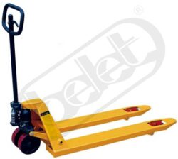 NF 12,5DF - Low-lift pallet truck-Low-lift pallet truck, capacity 1250kg, overall fork width 520mm