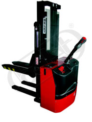 F 30AP3/SBP - Fork-lift tuck with electric travel and lifting-Fork-lift truck, electric travel and lifting, capacity 3000kg, lifting height 3000mm, overall fork width 570mm