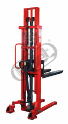 FX 10R3Q - High-lift truck with manually operated quick-lifting-High-lift truck with manually operated quick-lifting, capacity 1000kg, lifting height 3000mm, overall fork width 550mm
