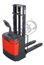 FX 12APE16/AC - fork-lift truck with electric travel and lifting - Fork-lift truck with electric travel and lifting, capacity 1200kg, lifting height 1600mm, overall fork width 570mm