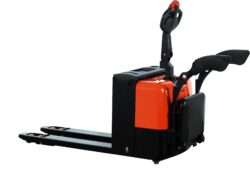 NFX 22AP/AC - Electrick pallet truck  with AC system - Low-lift pallet truck with electric travel and AC lifting, capacity 2200kg, lifting height 200mm, overall fork width 540mm