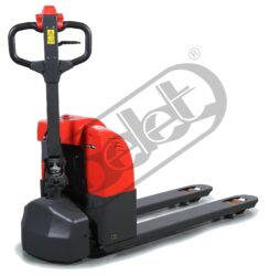 NFX 15RPN - Electric  pallet truck, electric driving, manual lifting - Low-lift pallet truck with electric travel, hand lifting, capacity 1500kg, lifting height 115mm, overall fork width 540mm