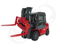 DV 45BVB, čelní motorový vozík, nosnost 4500 kg-Čelní motorový vozík s nosností 4500kg a dieselovým motorem YANMAR a ISUZU