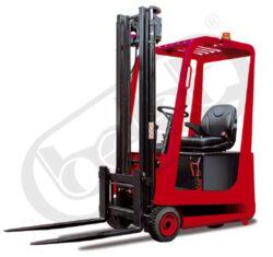 AVE 10/AC - čelní akumulátorový vysokozdvižný vozík-Čelní akumulátorový vysokozdvižný vozík s nosností 1000 kg, tříkolový
