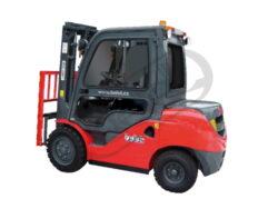 MV 15BVB, čelní motorový vozík, nosnost 1500kg-Čelní motorový vozík s nosností 1500 kg a benzinovýn motorem NISSAN