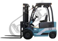 KBE 20/4-AC, čelní akumulátorový vysokozdvižný vozík-Čelní akumulátorový vysokozdvižný vozík s nosností 2000 kg, čtyřkolový