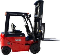 KBE 25/4-AC, čelní akumulátorový vysokozdvižný vozík-Čelní akumulátorový vysokozdvižný vozík s nosností 2500 kg, čtyřkolový