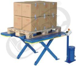 Ergo-E 1200 - zdvihací stůl - plochý-Zdvihací stůl  plochý, nosnost 1200kg, max.zdvih 670 mm, deska stolu 1350x1150 mm