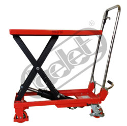 ZPX 15 - Table truck foot operated - Table truck foot operated, capacity 150kg, lifting height 720mm, table dimensions 700x450