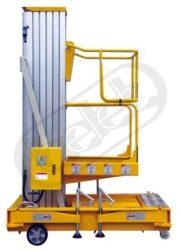 AWP8.1 - zdvižná pracovní plošina, vysokozdvih-Zdvižná pracovní plošina, vysokozdvih, simplex, nosnost 125 kg, max.zdvih 8000mm, rozměr ložné plochy 630x640mm