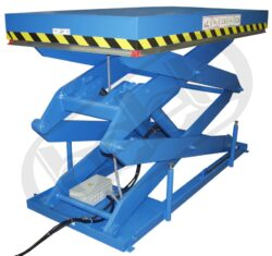 Zdvižné plošiny s elektromotorem řady ELD-Zdvižné plošiny - dvojité nůžky s elektromotorem, nosnost 1000 - 5000 kg, max.zdvih 1600-2000mm