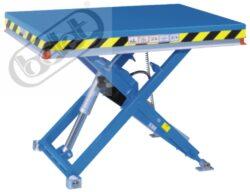 Zdvižné stoly řady M - elektrické čerpadlo-Zdvihací montážní stoly, nosnost 500-2000kg, max.zdvih 1000mm
