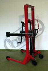 FSX 035R014/O - vysokozdvižný vozík pro sudy s naklápěním vpřed-Vysokozdvižný vozík pro sudy s naklápěním vpřed, nosnost 350 kg, max.zdvih 1425mm,