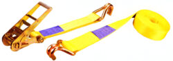 SY-RTD75-500 - upínací pás s ráčnou LC 5000Kg - 8m-Dvoudílný upínací popruh s ráčnou z polyesterových vláken, celková délka 8 m, max. zatížení  10000 kg